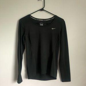 Nike Dri-Fit Black Long-sleeve